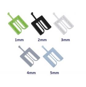 cale de pose fourchette en plusieurs dimensions pour montage de volet roulant