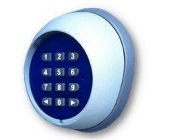 clavier à code radio pour porte de garage sur volet direct usine