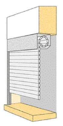 comment mesurer son volet roulant en rénovation avec une pose sous linteau intérieur avec volet direct usine
