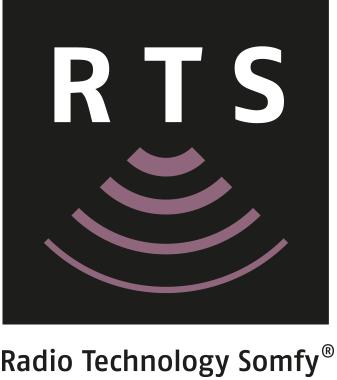 logo rts pour manoeuvre radio moteur SOMFY volet direct usine